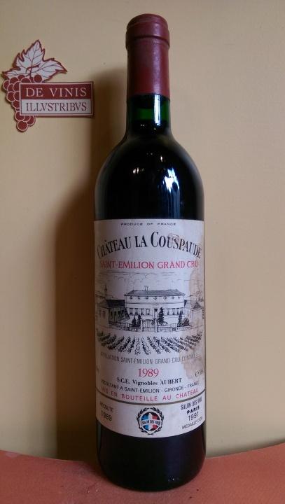 Château LA COUSPAUDE Grand Cru 1989
